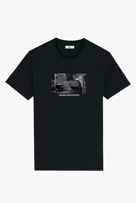 T-Shirt S/S Black Wanna Negotiate