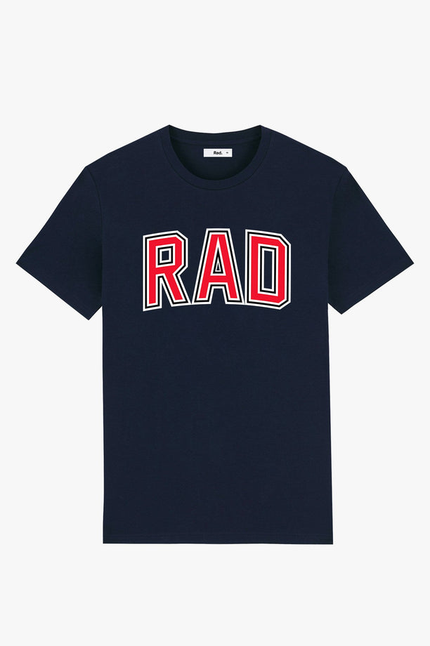 T-Shirt S/S Navy College