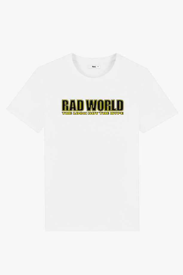 T-Shirt S/S White Rad World