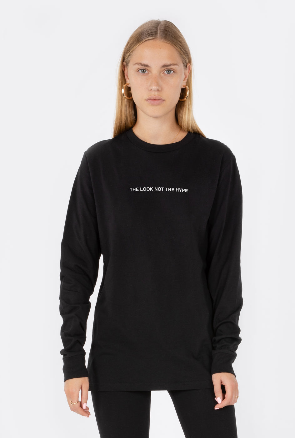 T-Shirt L/S The Look Not The Hype