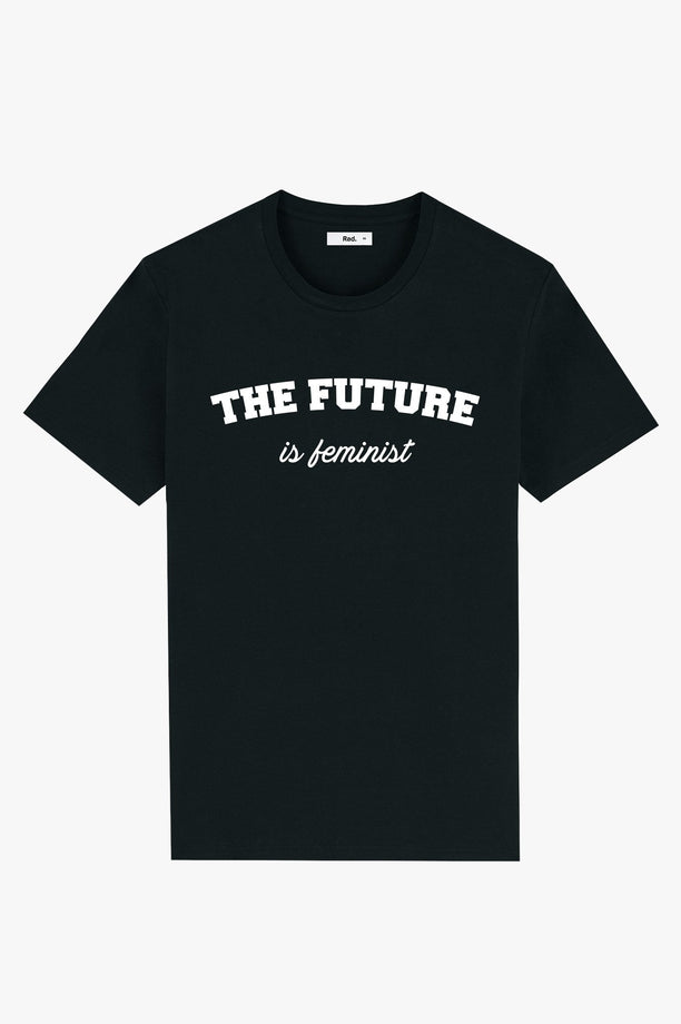 T-Shirt S/S Black The Future is Feminist