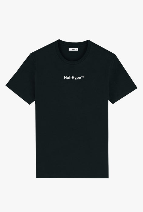 T-Shirt S/S Black Not Hype