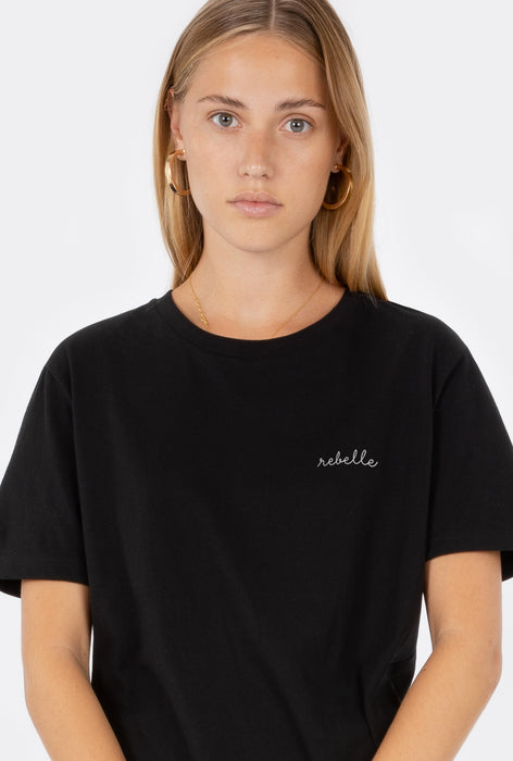 T-Shirt S/S Rebelle - Embroidered