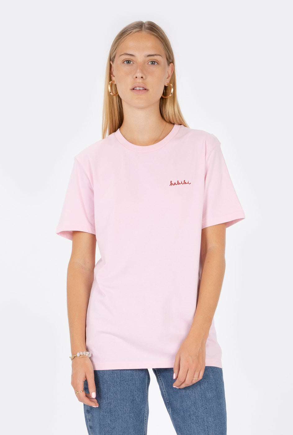 T-Shirt S/S Habibi - Embroidered