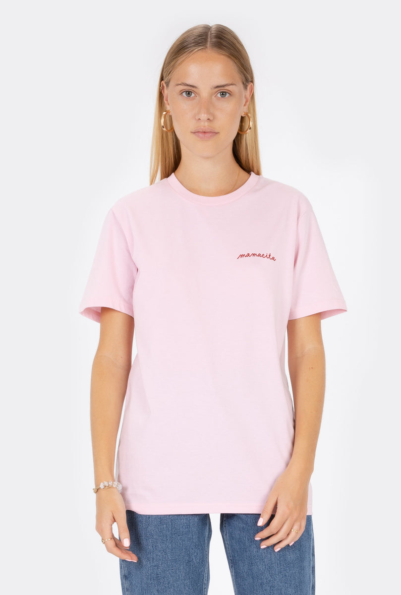 T-Shirt S/S Mamacita  - Embroidered