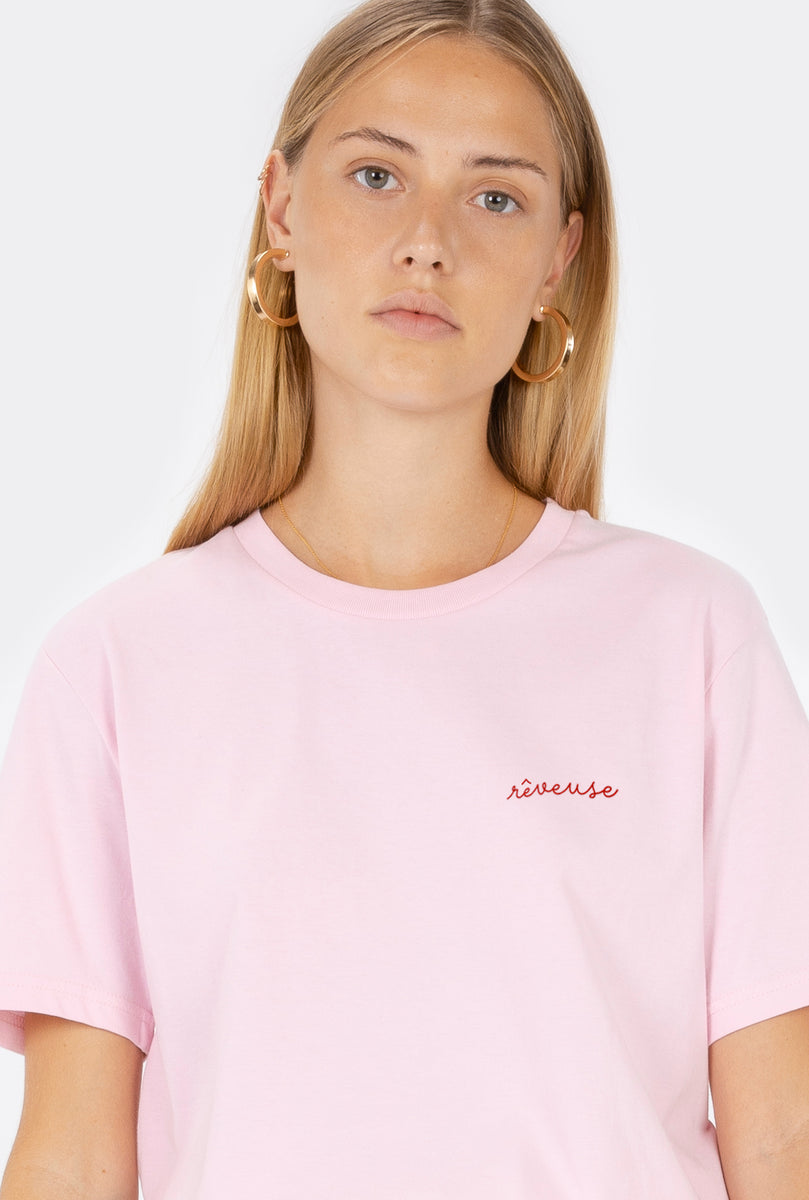 T-Shirt S/S Rêveuse - Embroidered