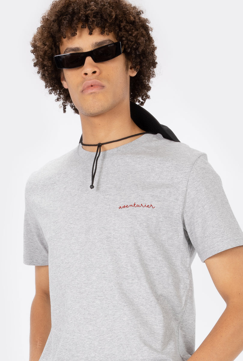 T-Shirt S/S Aventurier - Embroidered