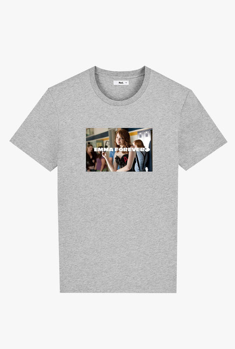 T-Shirt S/S Heather Grey Emma Forever