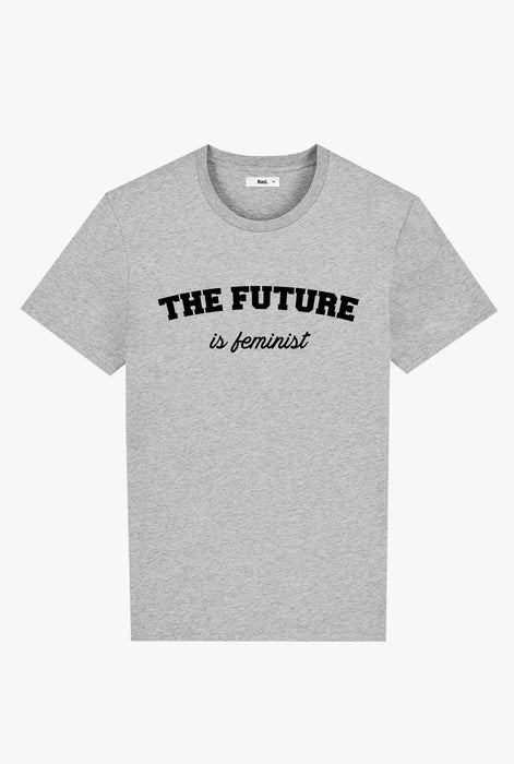 T-Shirt S/S Grey The Future is Feminist