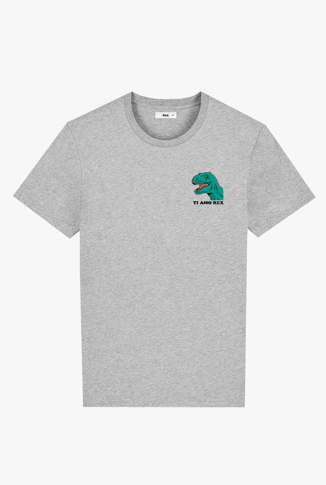 T-Shirt S/S Heather Grey Ti Amo Rex