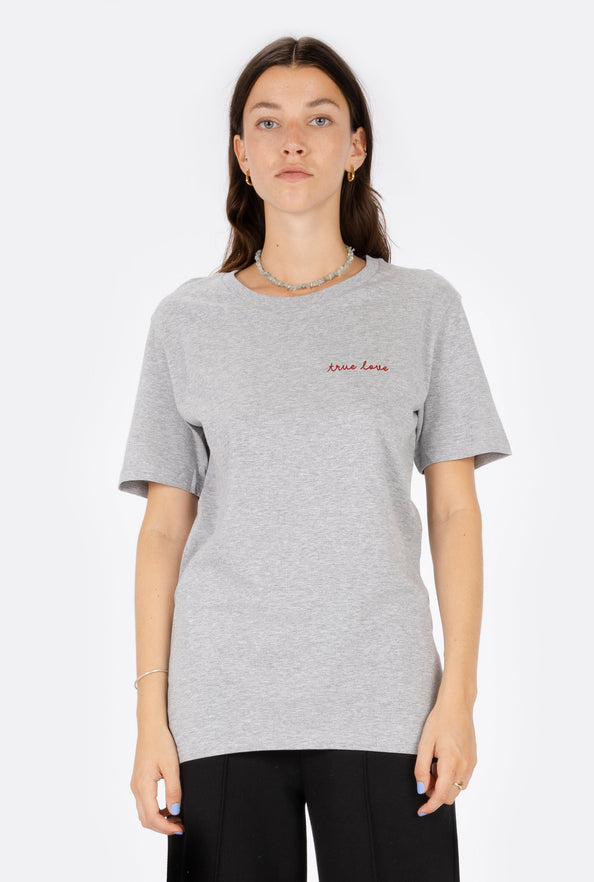 T-Shirt S/S True Love - Embroidered