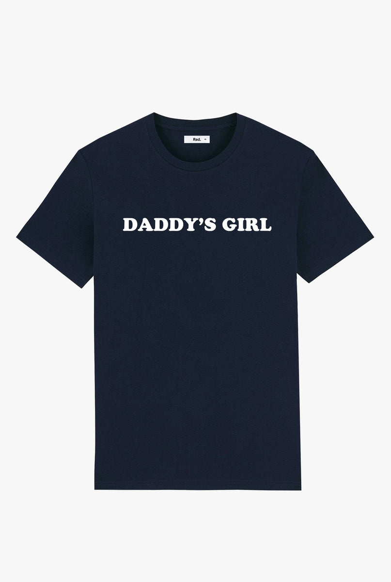 T-Shirt S/S Navy Daddy's Girl