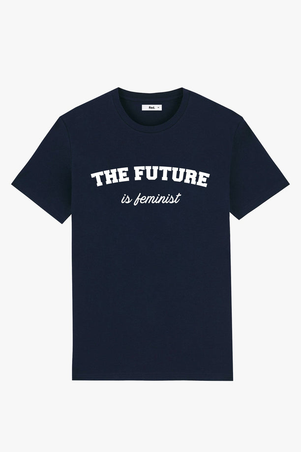 T-Shirt S/S Navy The Future is Feminist