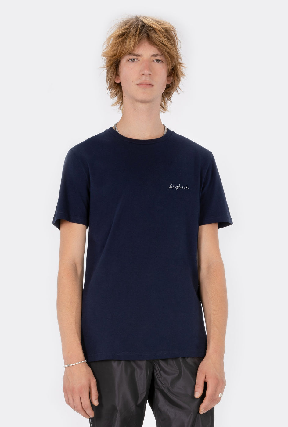 T-Shirt S/S Highest - Embroidered