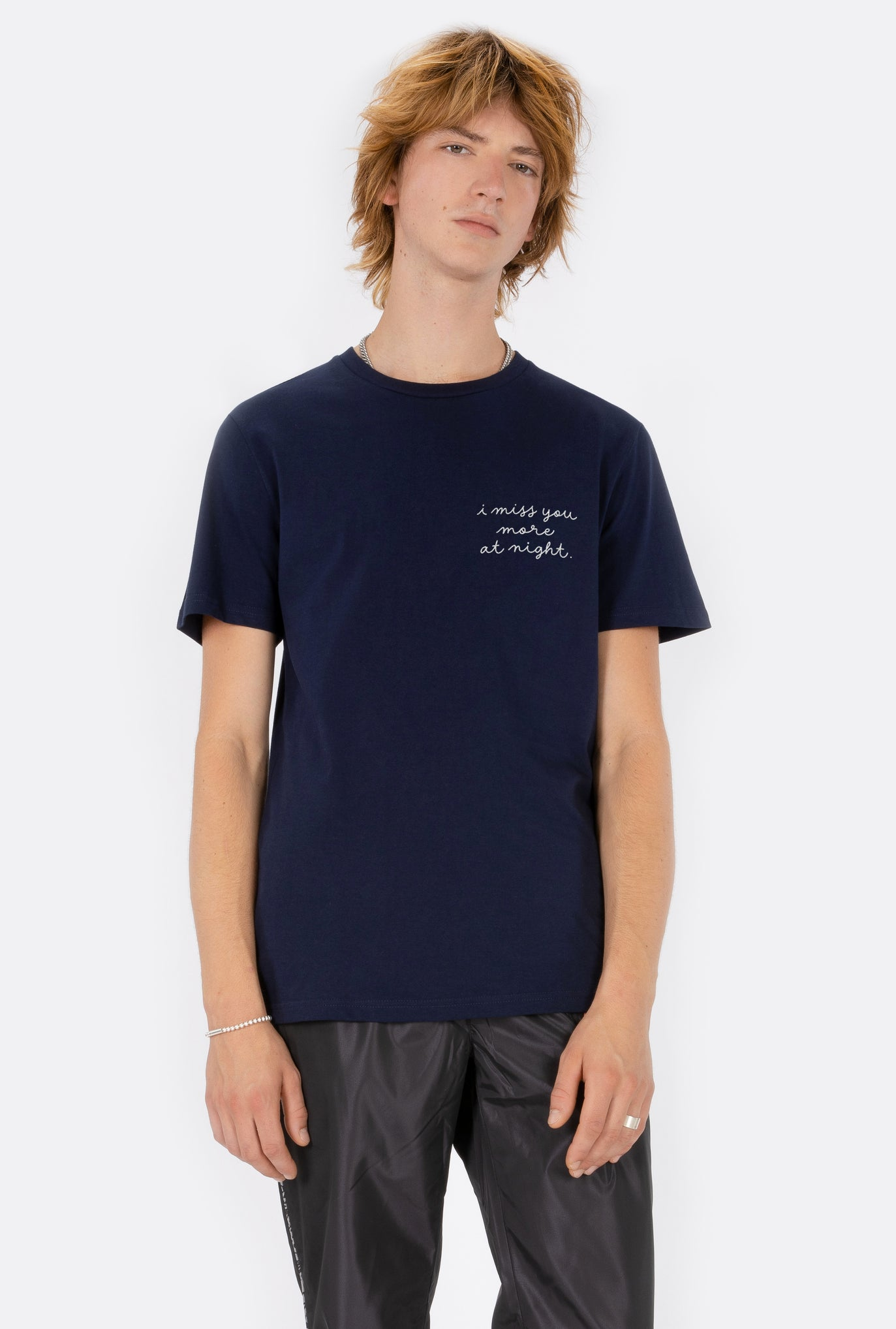 T-Shirt S/S Miss You More - Embroidered