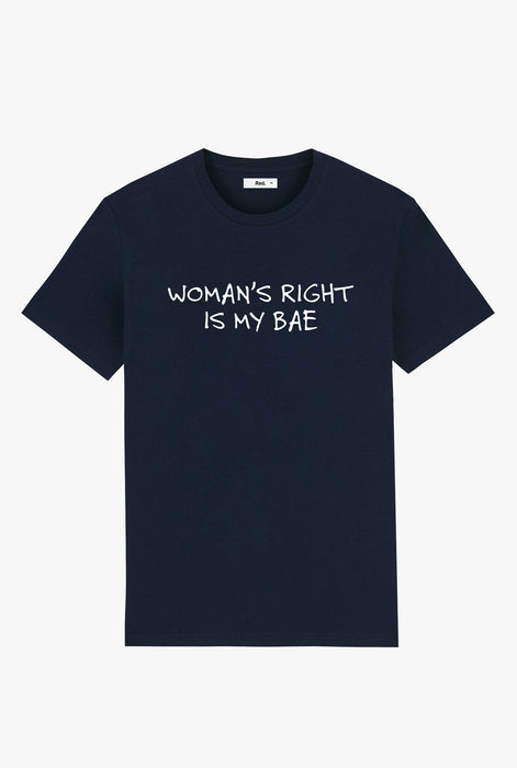 T-Shirt S/S Navy Woman's Right