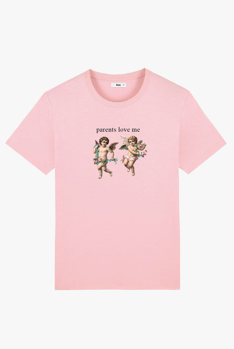 T-Shirt S/S Pink Angel