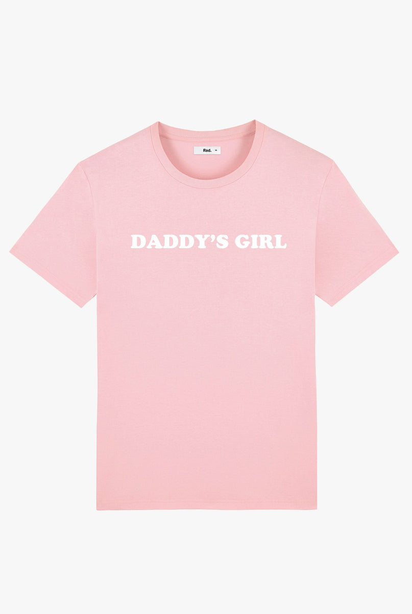 T-Shirt S/S Pink Daddy's Girl