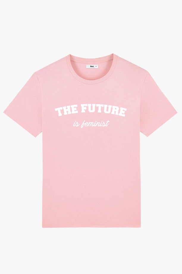 T-Shirt S/S Pink The Future is Feminist