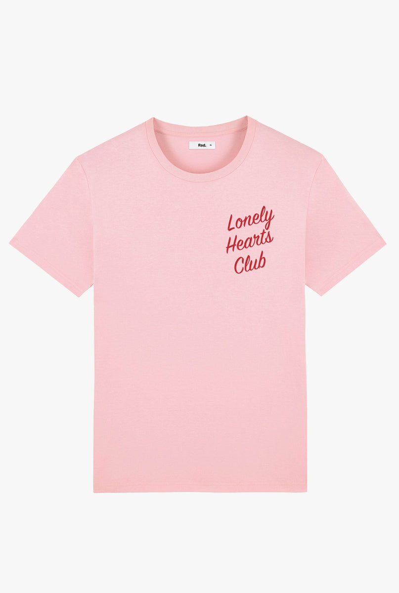 T-Shirt S/S Pink Lonely Hearts Club