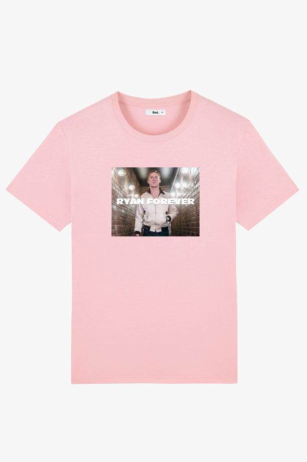 T-Shirt S/S Pink Ryan Forever