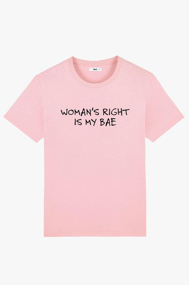 T-Shirt S/S Pink Woman's Right