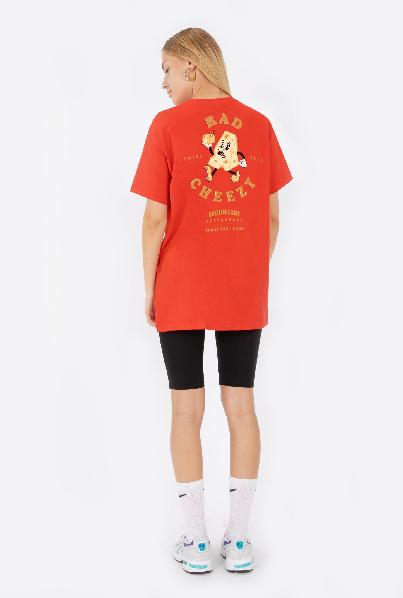 T-Shirt S/S Red Rad Mountain Restaurant