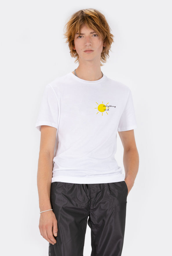 T-Shirt S/S Everything Is Ok - Embroidered