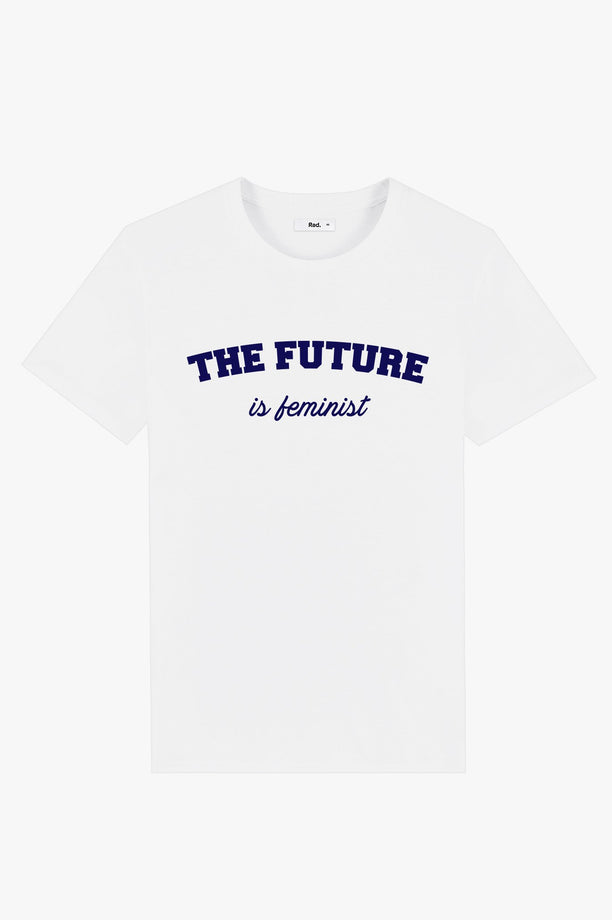 T-Shirt S/S White The Future is Feminist