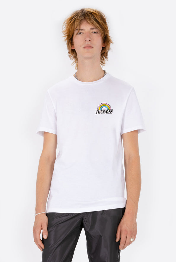 T-Shirt S/S Fuck Off - Embroidered
