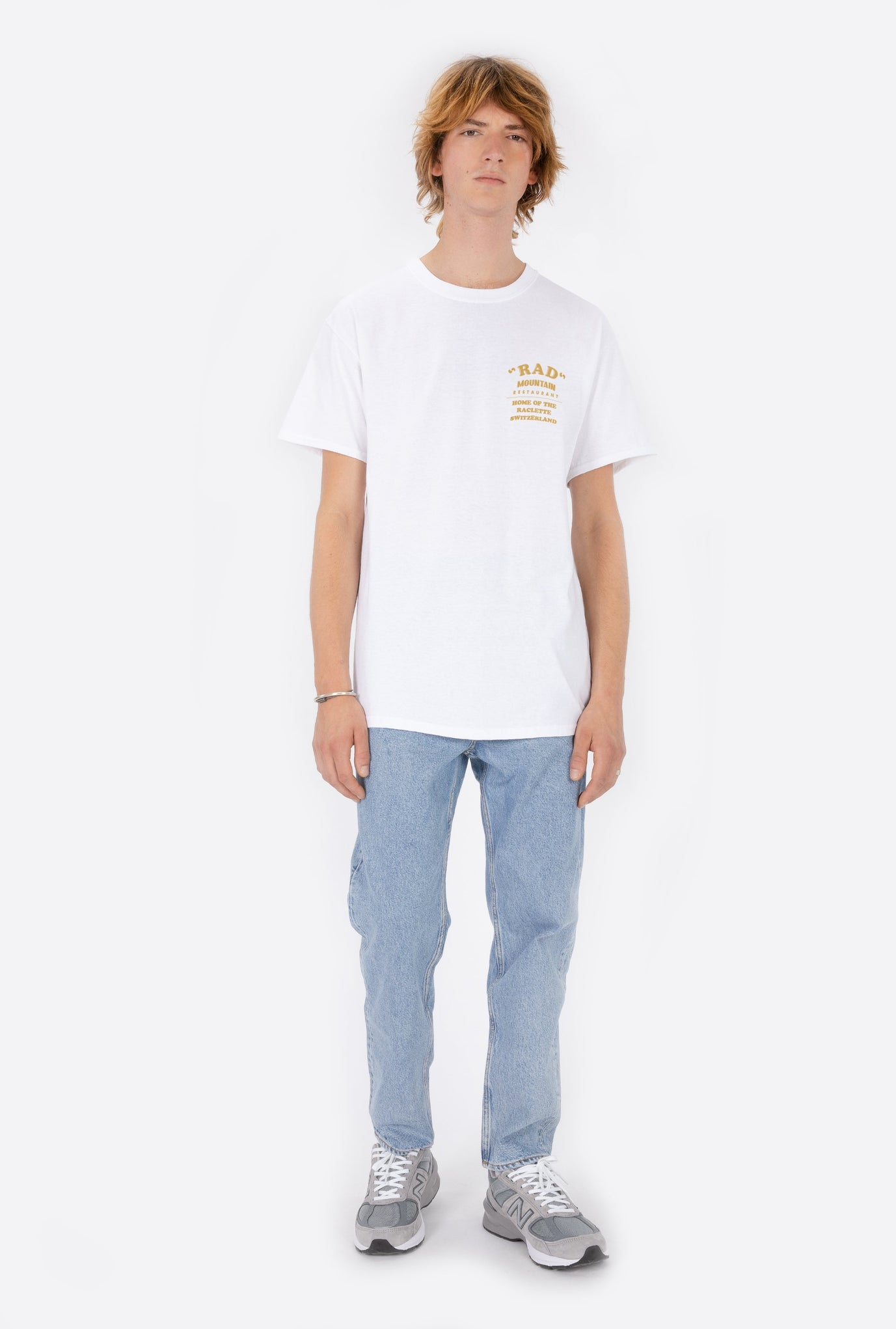 T-Shirt S/S White Rad Mountain Restaurant