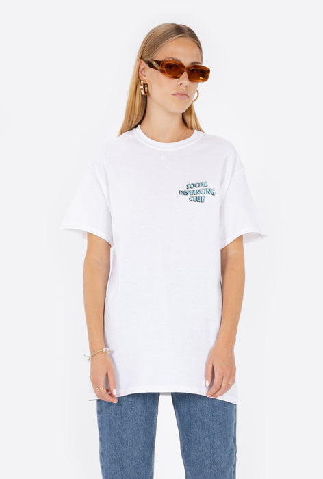 T-Shirt S/S White Social Distancing