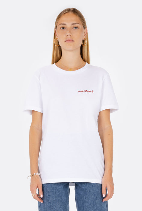 T-Shirt S/S Sweetheart - Embroidered