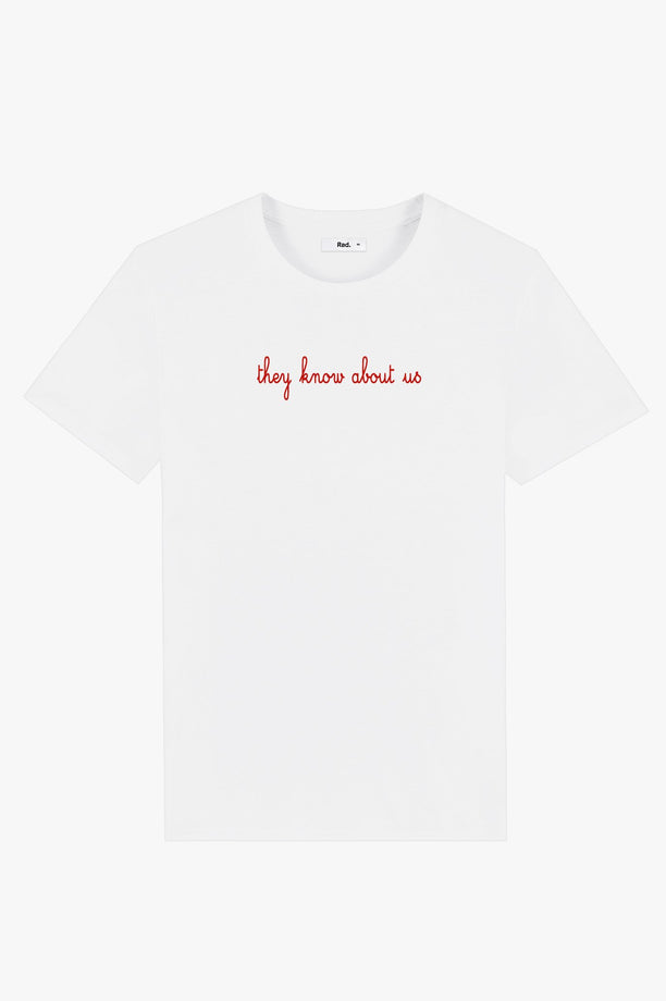 T-Shirt S/S White They Know About Us