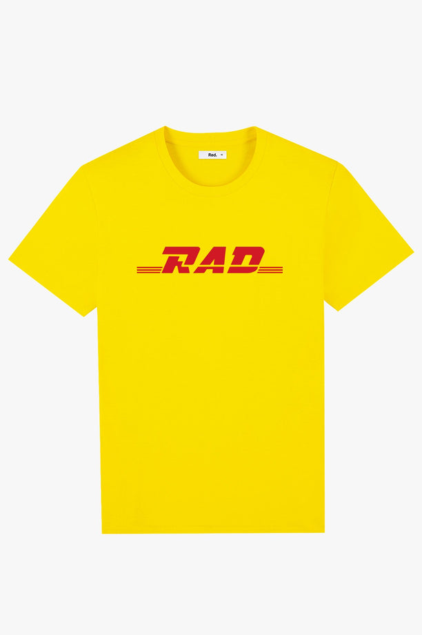 T-Shirt S/S Yellow Radpostal