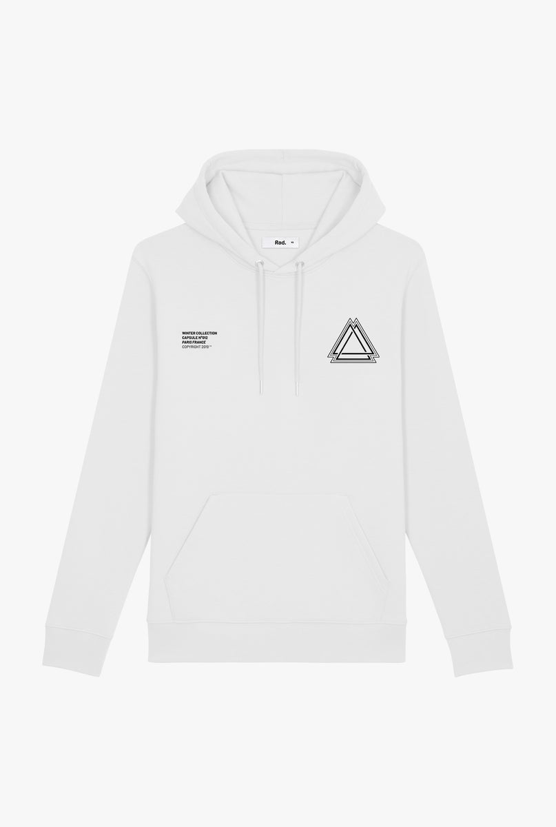 Hoodie White Triforce