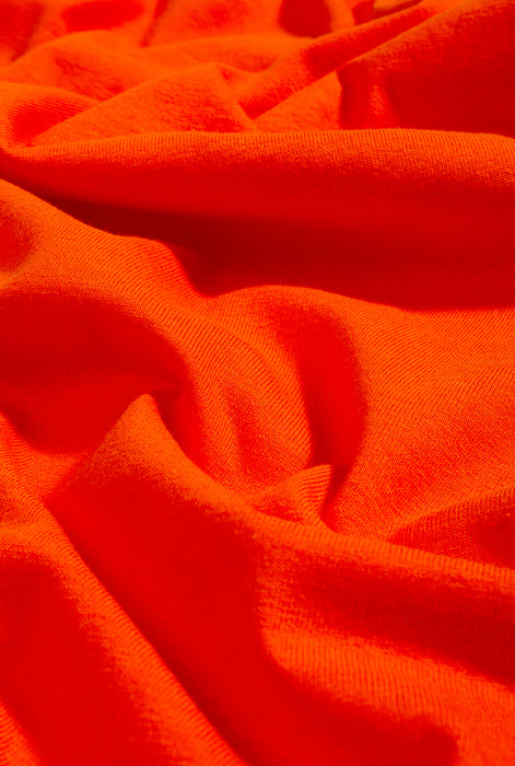 T-Shirt S/S Bright Orange Magnifying