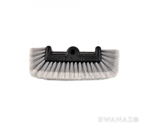 CarWashCloth 11″ Flow-Thru Quad Level Brush Head Grey |US Seller | Free Shipping