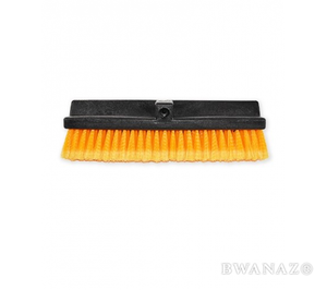 Car Wash Brush Head 15'' Flow-Thru Bi-Level Orange | CarWashCloth