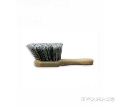 CarWashCloth 9'' Short Handle Soft Bristles Wash Brush Grey | Free Shipping