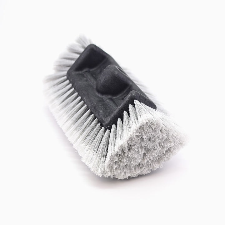 Car Wash Brush Head 11″ Flow-Thru Quad Level Grey | CarWashCloth