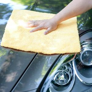 "Microfiber Fur Edgeless Towel 450GSM 16""x16"" 
