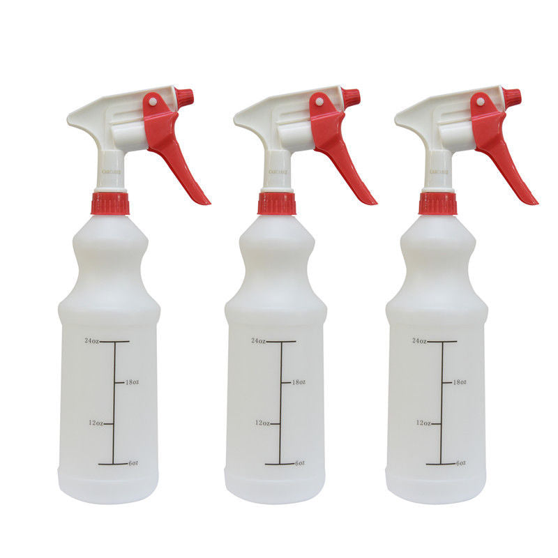 Trigger Spray Bottles Plastic Red Sprayers 32oz