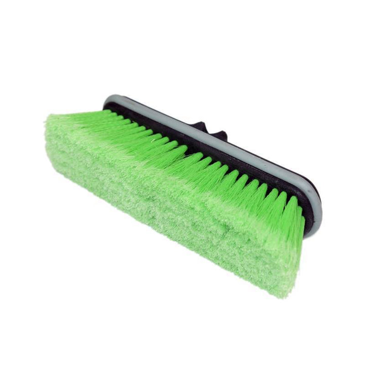 "Car Wash Brush Head 10"" Super Soft Bristle Green"