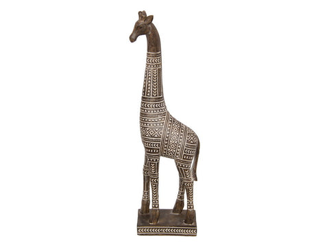 Silhouettes of Serengeti - Giraffe Statue - Global Goddess Homewares