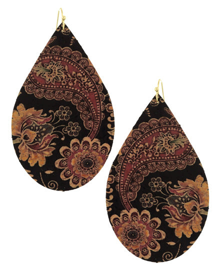 Embossed in India - Earrings - Global Goddess Homewares