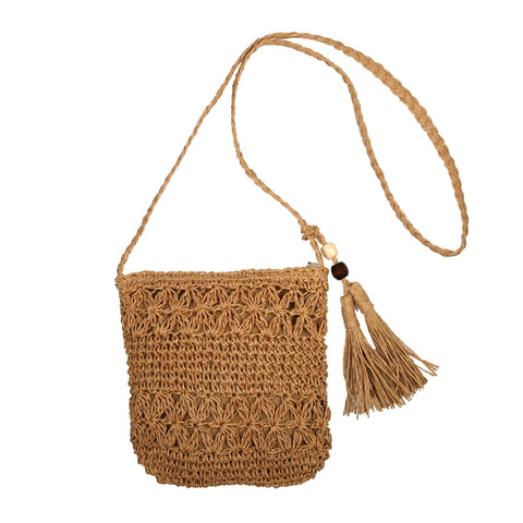 Medewi Beach - Rattan Bag - Global Goddess Homewares