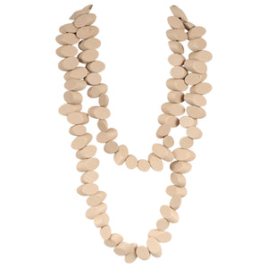 Uluwatu Beach Wood - Natural Necklace - Global Goddess Homewares