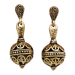 Ancient Temple of India  - Earrings - Global Goddess Homewares