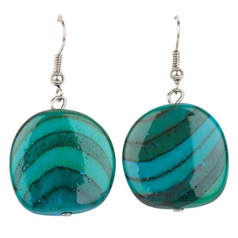 Waves of Uluwatu - Earrings - Global Goddess Homewares